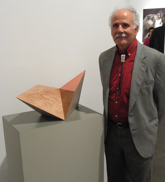 Diamond form on exhibition at Rosamund Felsen Gallery