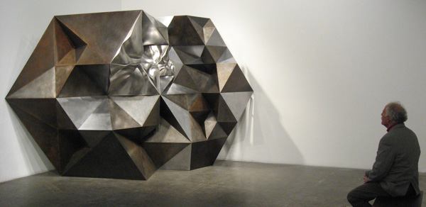 Large Preston sculpture on exhbition at Rosamund Felsen Gallery